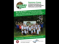 Fussball-Sommercamp 2018